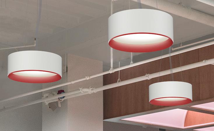 Arancia Lighting Drum Pendant