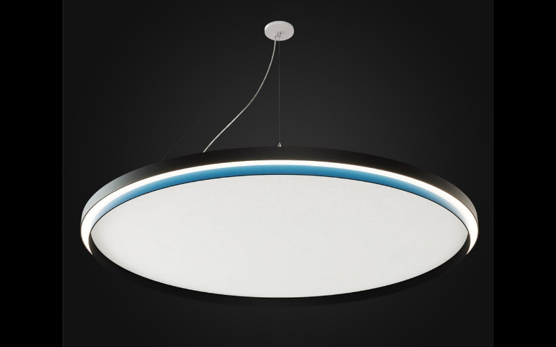 ALW. MR1.5A/MR3A. MOONRING 1.5 & 3 THE HARMONIC COLLECTION   ACOUSTICS   SPENDED   CEILING MOUNT.