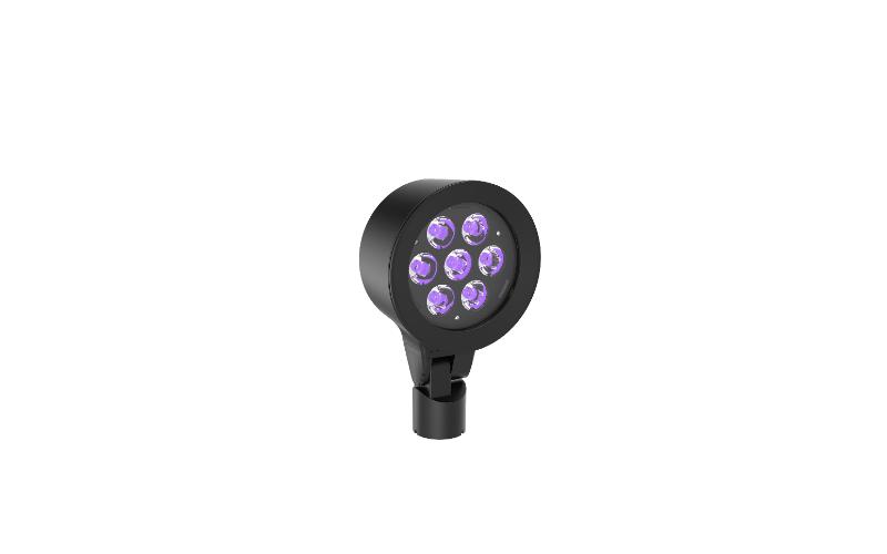Hydrel. SAF7. RGBW SPECIALTY ARCHITECTURAL FLOOD MVOLT LED.