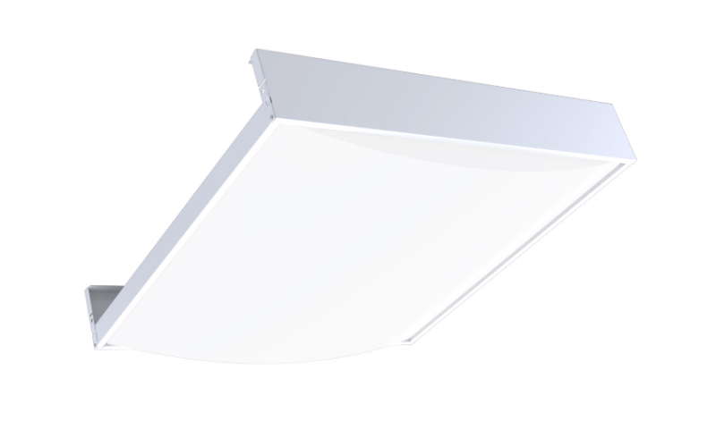Viscor. OCRX. ONCURVE CONVEX LED - Architectural Recessed Troffer with Convex lens.