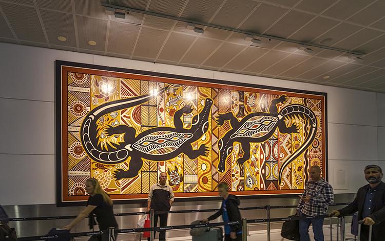 ERCO Kingsford Smith International Airport, Sydney—Artwork