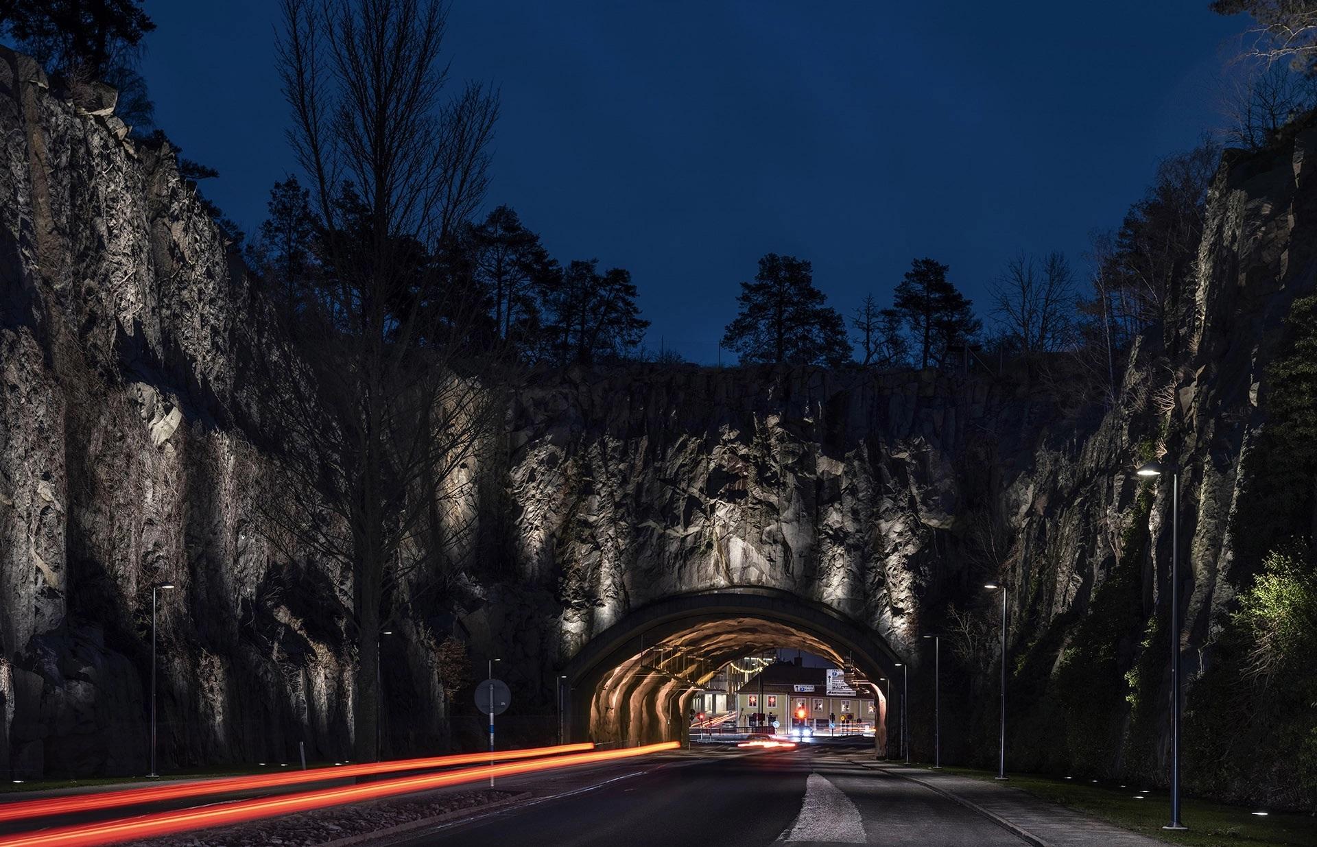 GVA Lighting Hinse Mountain - The City Gate to Karlshamn