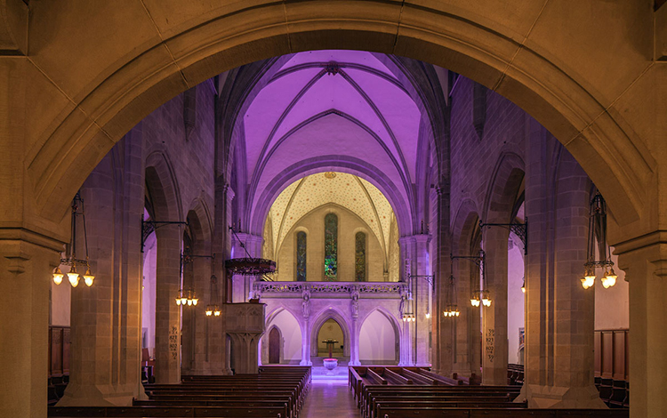Led Linear FRAUMÜNSTER CHURCH