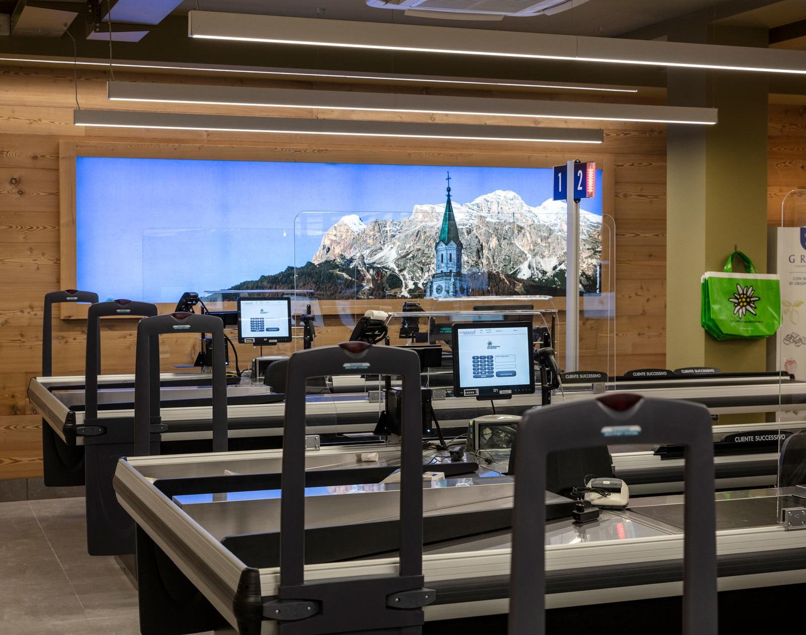 Linea Light Eurospar – La Cooperativa di Cortina