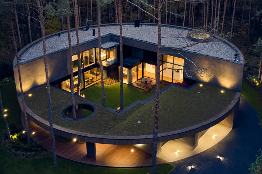 Luce & Light Circle Wood