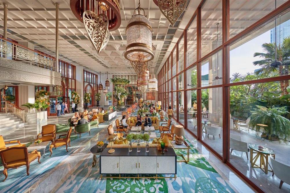 Preciosa Lighting Mandarin Oriental Hotel
