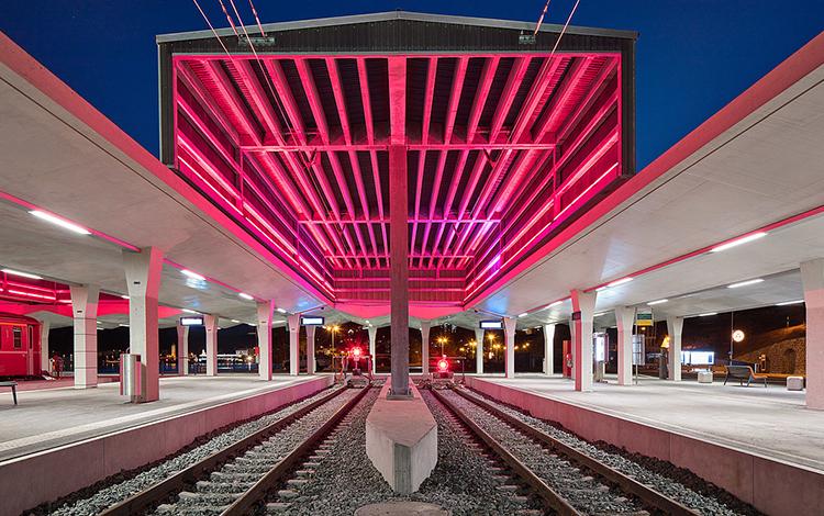 Regent Lighting ST. MORITZ RHB RAILWAY STATION