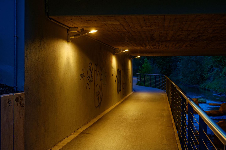 Schreder Borkener Aa River Path
