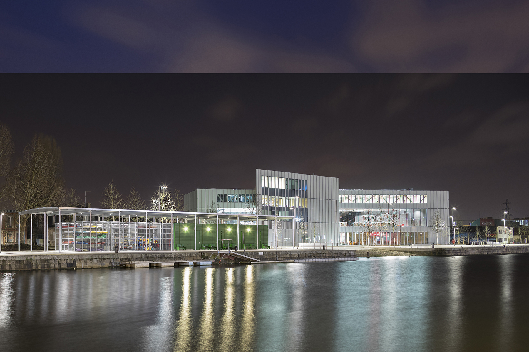 Schreder Ile de Caen Redevelopment