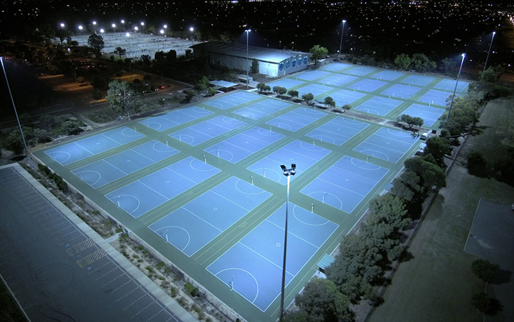 Schreder Kingsway Netball Courts