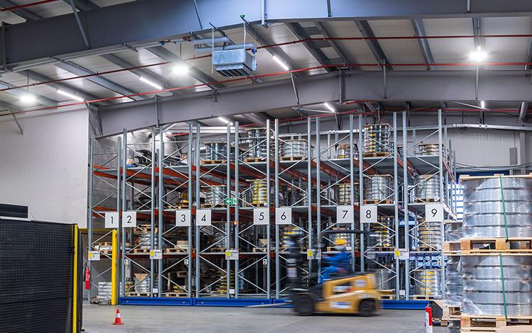 Schreder Metalcolor Industrial Plant