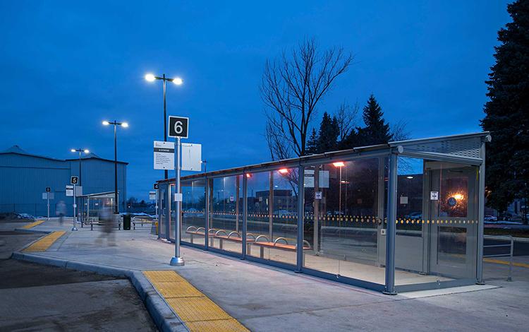Schreder Stratford Transit Terminal