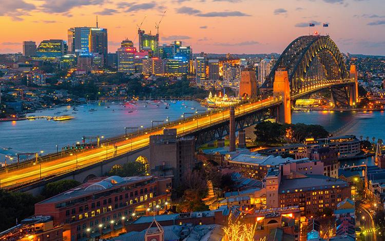 Schreder Sydney Harbour Bridge