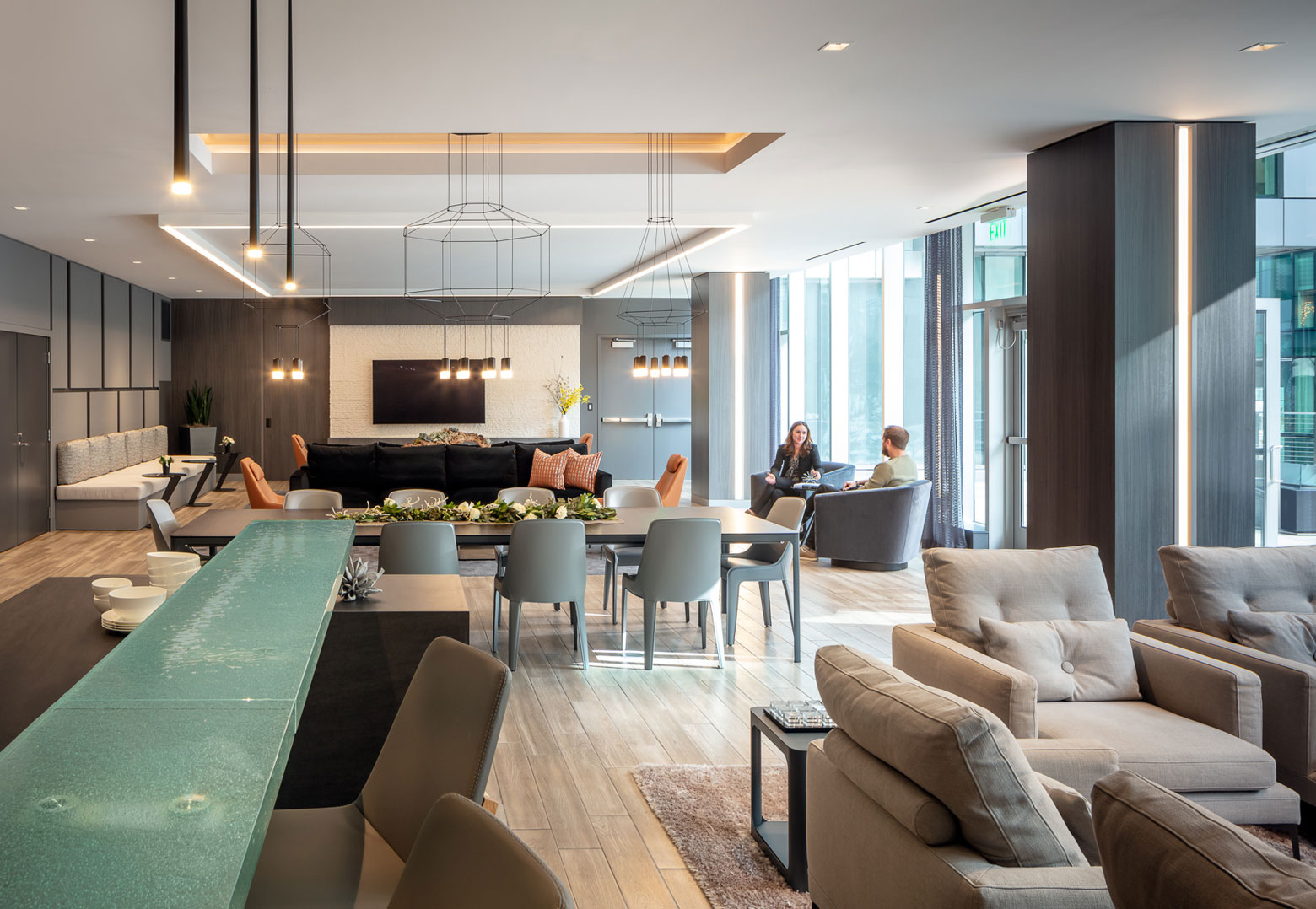 Vibia Luxury San Francisco Condominium Lounge