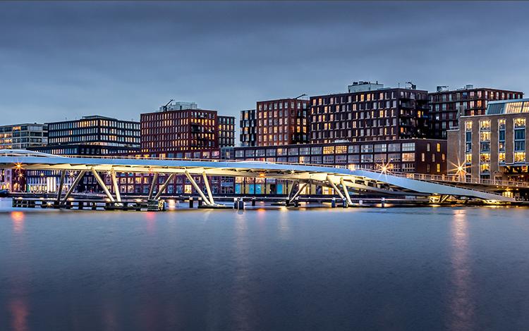 We-ef Lighting The Jan Schaeferbrug Bridge