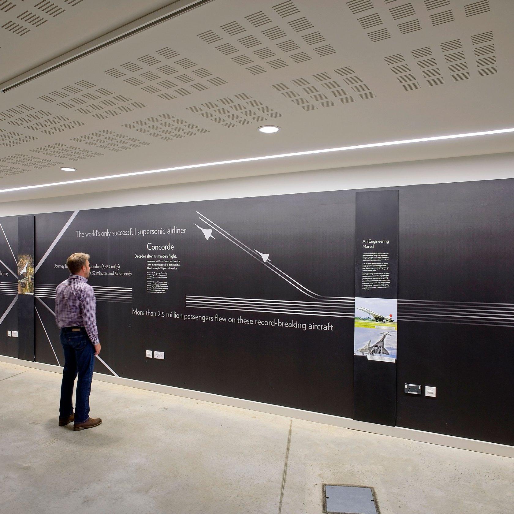 Zumtobel AEROSPACE BRISTOL MUSEUM
