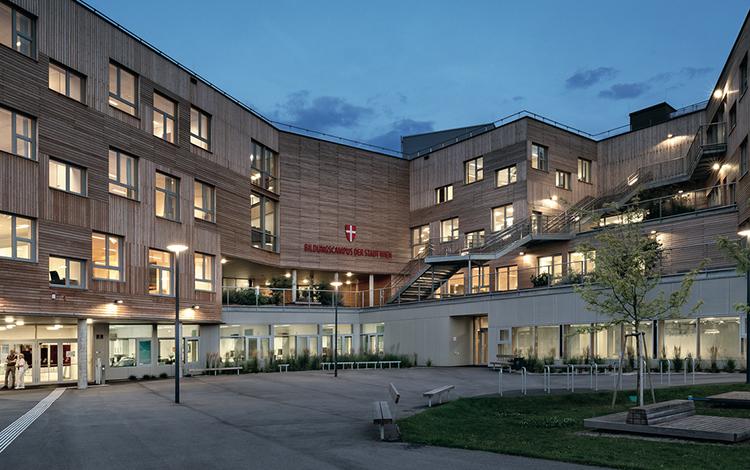 Zumtobel BERRESGASSE EDUCATIONAL CAMPUS