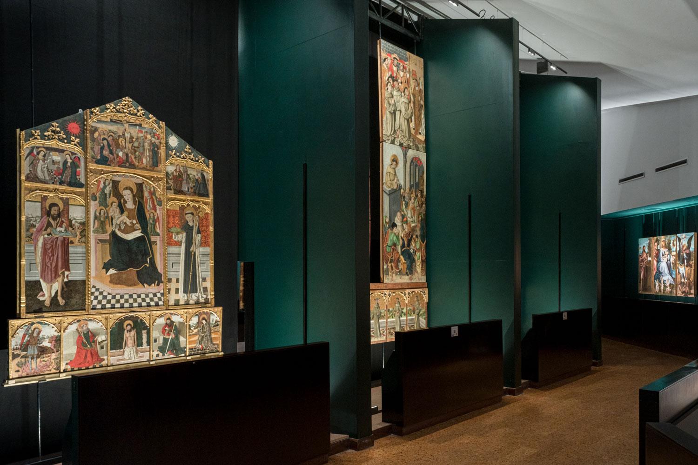 iGuzzini The Altarpieces at the Pinacoteca Nazionale in Cagliari
