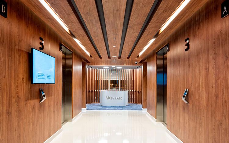 iGuzzini The Arab Banking Corporation Headquarters