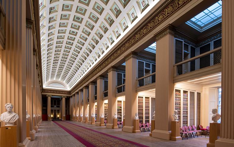 iGuzzini The Playfair Library at Edinburgh University