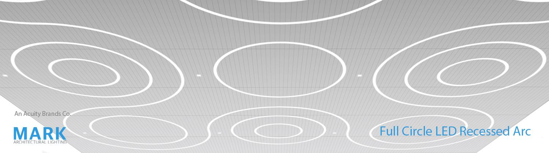 Full Circle LED Recessed Arc